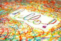 Color fun  by colormekatie, via Flickr