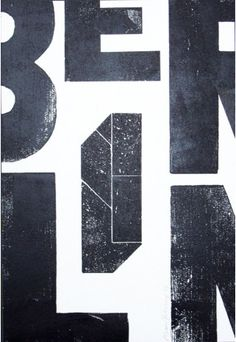 Typographic design by Alan Kitching, Berlin.