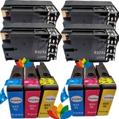 10 Compatible hp 932 933 cartridges for hp932 XL 933 XL Officejet 6600 e-All-In-One 6700 Premium
