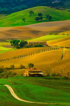 ~~Brilliant Colors Of Tuscany - Val d'Orcia Region, Tuscany, Italy by Kevin McNeal~~
