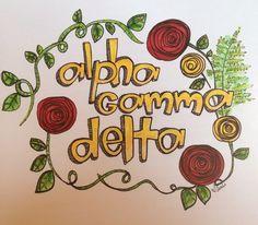 Alpha gamma delta AGD