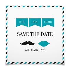Save the Date Mr. & Mrs. in Aqua - Postkarte quadratisch #Hochzeit #Hochzeitskarten #SaveTheDate #modern #Typo https://www.goldbek.de/hochzeit/hochzeitskarten/save-the-date/save-the-date-mr.-und-mrs.?color=aqua&design=dd23a&utm_campaign=autoproducts