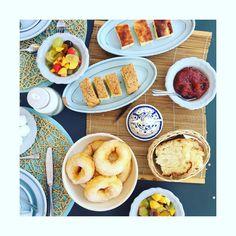 """Petit"" déjeuner #lamaisondubonheur #Italie #pouilles #instafood #petitdejeuner #breakfast #vacancesdereves #summer 🇮🇹☀️🍹👫"