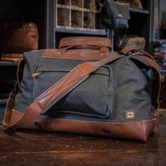 Image result for vertical duffle bag Weekend Travel Bag, Brown Leather,  Leather Men, 01c08394f6
