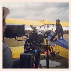 ELLE China Magazine Shoot #torquay #victoria #tigermoth #fashion #photoshoot #videoshoot #behindthescenes #bts #5d #5dmk3 #planes #airstrip #greatoceanroad @visitmelbourne