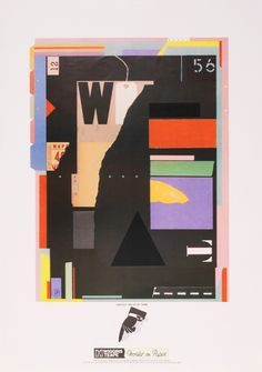 By Trickett & Webb for Wiggins and Teape 1982
