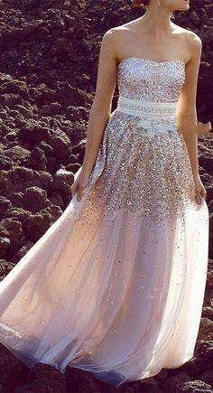 Floor Length Prom Dress,Prom Dress