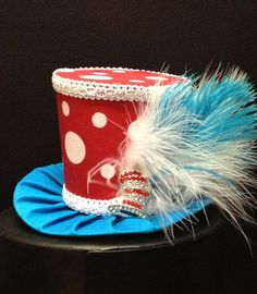 Dr Suess Inspired Mini Top Hat for Dress Up by daisyleedesign