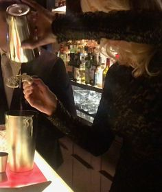 Classy colibri behind the BaR of the Hotel Beau Rivage Palace in Ouchy, Lausanne, Switzerland, with Antoine Boschat, bar manager