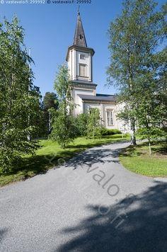Sotkamon luterilainen kirkko - Sotkamo Mansions, House Styles, Finland, Manor Houses, Villas, Mansion, Palaces, Mansion Houses, Villa