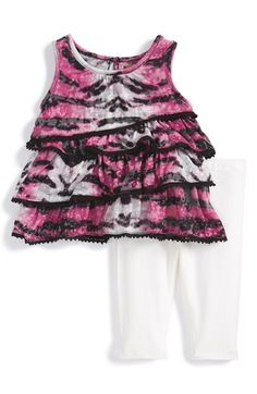 Nicole+Miller+Sleeveless+Tunic+&+Leggings+(Baby+Girls)+available+at+#Nordstrom