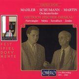 Gustav Mahler, Robert Schumann, Frank Martin: Orchesterlieder [CD], 03698341