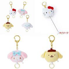 98919e80953 Cute Sanrio Plush Doll Hello Kitty Melody Cinnamoroll Pudding Dog Fashion  Dolls Elastically Stretchable Keychain gift