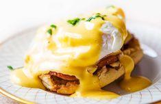 Benedict eggs με σολομό