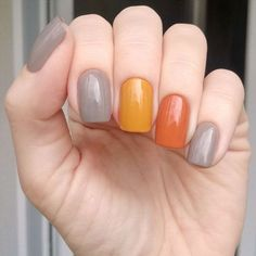 Fall nail art designs you may want to start out with the colorful Fall leaves. The best thing about nail art design match it with Fall Nail Art Designs, Nails Polish, Nagellack Trends, Trendy Nail Art, Autumn Nails, Super Nails, Nagel Gel, Nail Decorations, Nails Inspiration