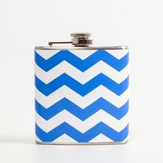 Chevron Flask Blue!