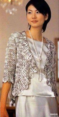 BOLERO A CROCHET | Patrones Crochet, Manualidades y Reciclado