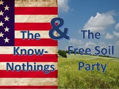 Powerpoint presentation showing the emergence of the American Party (a.k.a. Know-Nothing Party) & the Free Soil Party during the pre-Civil War slavery debate. This powerpoint covers the background, their successes, and their ultimate failures. Check out t