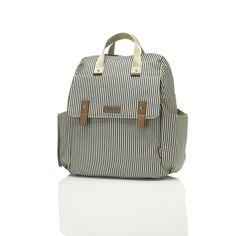 BabyMel - Robyn Stripes Diaperbag – Hello Little Page Girl Diaper Bag, Diaper Bag Backpack, Baby Necessities, Baby Essentials, Bottle Warmer, Over The Shoulder Bags, Convertible Backpack, Bottle Bag, Prams