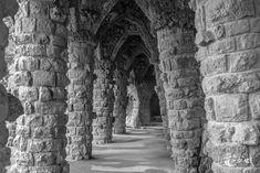 Parc Güell – black and white