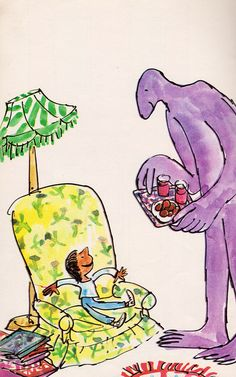 Monster Looks for a Friend - Quentin Blake