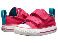 b0c9e2d86144 Converse kids chuck taylor all star 2v ox infant toddler cosmos pink
