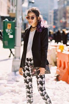 New York Fashion Week AW 2014....Irene