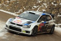 Jari Matti Latvala of Finland and Mikka Anttila of Finland compete in their Volkswagen Motorsport Volkswagen Polo WRC during Day Three of the WRC Monte-Carlo on January 2013 in Montecarlo, Monaco. Vw Motorsport, Polo R, Off Road Racing, Volkswagen Polo, Rally Car, Monte Carlo, Finland, Monaco, Hobbies