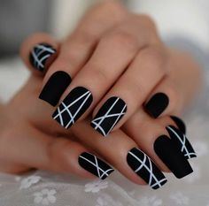 46 Inspiring Winter Nail Art and Designs - Nails- . - 46 Inspiring Winter Nail Art and Designs – Nails- - Stylish Nails, Trendy Nails, Cute Nails, Best Acrylic Nails, Acrylic Nail Designs, Acrylic Art, Winter Acrylic Nails, Nail Art Designs, Winter Nail Art