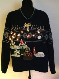 55 Best Ugly Christmas Sweaters Plus Size images   Ugly christmas ... 9a1fbb10c6
