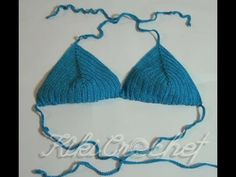 Πλεκτο Μαγιω με Βελονακι (μερος 1ο)/ Crochet Bikini Top Tutorial