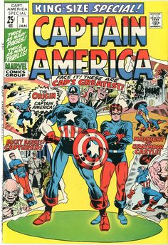 King-Size Captain America #1