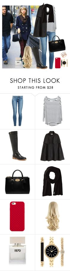 """""""day with Taylor"""" by famousstyles-dp ❤ liked on Polyvore featuring Paige Denim, French Connection, H&M, Mulberry, Soia & Kyo, Tory Burch, Bella Freud, Style & Co. and EF Collection"""