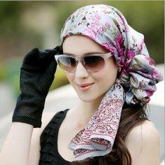 fashion head scarves for women | Head Scarf For Women-Winter Fashion 2013 : Stylish9