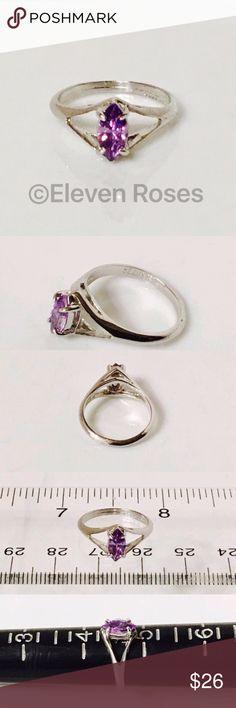 2538c7e6a917 Beau 925 Sterling Silver Amethyst Birthstone Ring Beau Sterling Silver  Birthstone Ring - 925 Sterling Silver