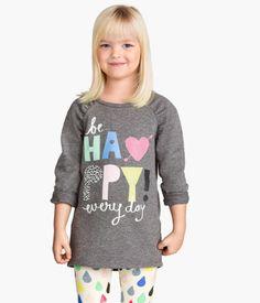 Sweatshirt with printed design | H&M US