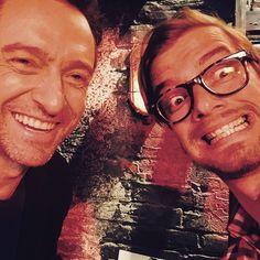 """Pin for Later: """"Sag' Cheese!"""" Die besten Selfies der Stars Joko Winterscheidt und Hugh Jackman"""