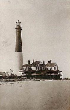 Barnegat City New Jersey NJ Barnegat Lighthouse Collectible Vintage Postcard