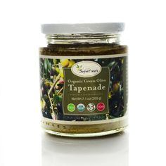 Live Superfoods Organic Green Olive Tapenade