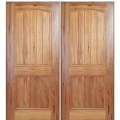 MAI Doors A79PI-2 Alpine Square Top V-Grooved 2-Panel Interior Doors in Walnut 2 Panel Interior Door, Decor, Doors, Traditional Interior, Paneling, Home Decor, Home Styles, Traditional Doors, Doors Interior