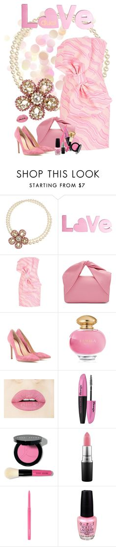 """Love Pink"" by duci ❤ liked on Polyvore featuring Miu Miu, Boutique Moschino, J.W. Anderson, Gianvito Rossi, La Perla, L'Oréal Paris, Bobbi Brown Cosmetics, MAC Cosmetics and OPI"