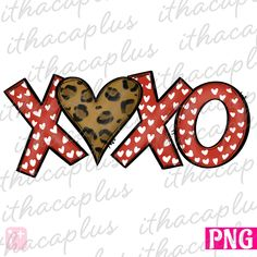 Valentinstag-Sublimation, Xoxo Png, Leopard Valentine Design PNG, Valentines c … Valentines Day Clipart, Kinder Valentines, Valentines Design, Valentines Day Shirts, Valentine Heart, Valentine Day Cards, Valentinstag Shirts, Valentines Illustration, Christmas Red Truck