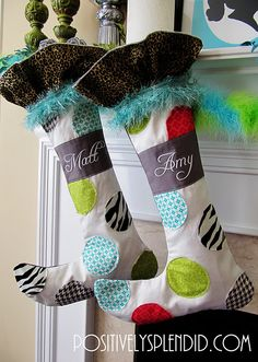 Stocking-Hanging Tips pinned just cause it says matt and amy