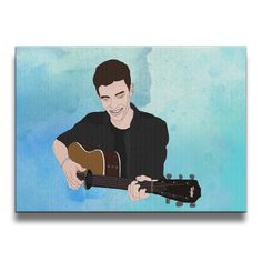 Bekey Shawn Mendes Poster Canvas Prints Artwork For Home Office Decorations Wall Decor For Living Room&bedroom -- Awesome products selected by Anna Churchill