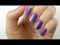 YouTube nail art sensation cutepolish shows you how to get this on-trend look based on the oh-so-pretty #Sephora + Pantone Universe color of the year. #Video #sephorapantone #coloroftheyear @PANTONE COLOR
