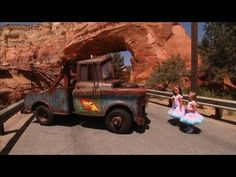 Sophia Grace & Rosie Check Out Cars Land