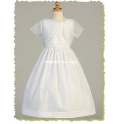 Satin First Communion Dress - without the jacket