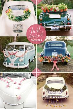 modern wedding transport decor - Google Search