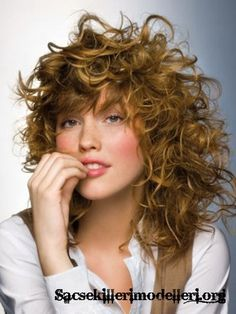 15 Best Shag Haircut Curly Images Curls Haircuts For