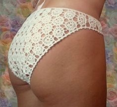 Silk lingerie lace silk panties sexy crochet bottom hot knickers panties thong lace lingerie lace thong by Czechhandmade on Etsy